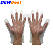 Free shipping Hot Selling Disposable PE HDPE LDPE Plastic Polyethylene gloves  food gloves 100pcs/bag