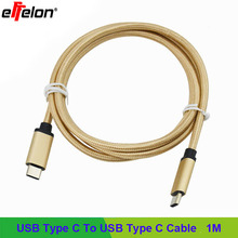 Effelon Type-C Male to Type-C Male Charger Connector Data Cable For Nokia N1 Type-C USB-C to Usb For Macbook//Nexus 5X 6P/Letv