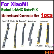 1pcs for Xiaomi Redmi 4 4A 4X Note 4 4X global international oversea version Main Board Motherboard charging connect Flex Cable(China)