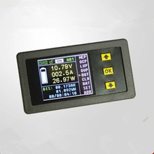 1Set DC120V 30A Colorful Multifunction Wireless LCD Voltage Current Meters Ammeter Capacity Watt-hour Power Meter Coulometer(China)