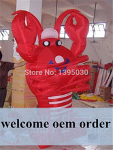 2m Lobster Inflatable Balloon for Advertising OEM Inflatable Animal Shape