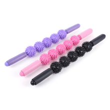 3 Colors Massage Roller Yoga Stick Bar Muscle Trigger Point Massager Stick Eliminate Fat Lose Weight cellulite Health Care Sales(China)