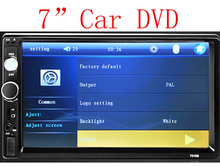 New universal Car Radio Double 2 din Car DVD Player In dash Car PC Autoradio Stereo video