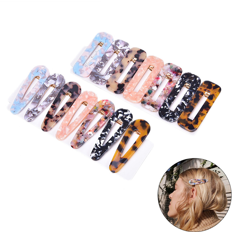 14Piece Women Leopard Hair Pin Vintage Hair Clip Barrette Hairpin Hair Styling Accessories For Girls