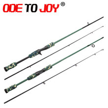 Free Shipping Spinning Fishing Rod Lure  1.8m Baitcasting Ultra Light Pole power Moderate action Carbon Rod 2 sections long hand