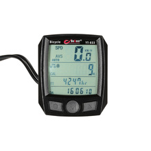 BoGeer Bike Motorbike Cycling Computer Sensors Rainproof LCD Backlit Bicycle Speedometer Odometer Calendar Stopwatch Rainproof(China)