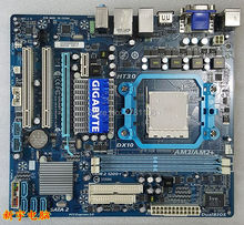 Used,original motherboard for  Gigabyte GA-MA78GME-S2H  socket AM2/AM2+/AM3 ddr2 Desktop mini motherboard tested good!