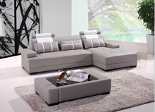 Modern corner sofas for leather corner sofas with modern design leather sofa L SHAPE included coffe table