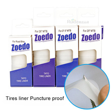 Zoedo MTB Road Bike Tires Liner Puncture Proof  26 / 27.5 / 29 / 700C Bicycle Tire Mountain Bike Tyre Bicycle Inner Tube 2pcs