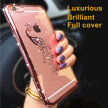 Buy XINMANROU Luxury Bling Rhinestone Case IPhone 5 5S SE Cases Coque IPhone 6 6S 7 Plus Case Glitter Diamond Silicone Cute for $2.73 in AliExpress store
