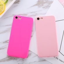 Buy Solid Candy Color TPU Bright Smooth Back Phone Case iPhone 7 4.7 Inch Soft Silicone Gel Rubber Cover Case 15 Colors for $1.79 in AliExpress store