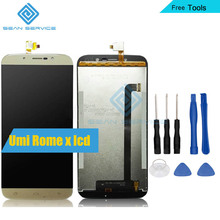 "For UMi Rome X 100% Original LCD Display and TP Touch Screen Digitizer Assembly lcds For 5.5"" 1280X720P UMI ROME X Phone LCD+TP"