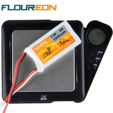 FLOUREON 7.4V 1000mAh 2S 20C RC Lipo Rechargeable Battery Cells Lipo Battery Pack (JST Plug) High Quality(China)