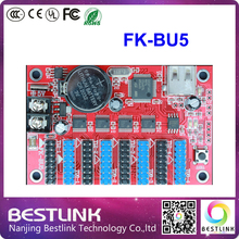 led FK-BU5 led controller card 64*1024 PIXEL led control card for outdoor led display screen programmable led taxi top sign diy