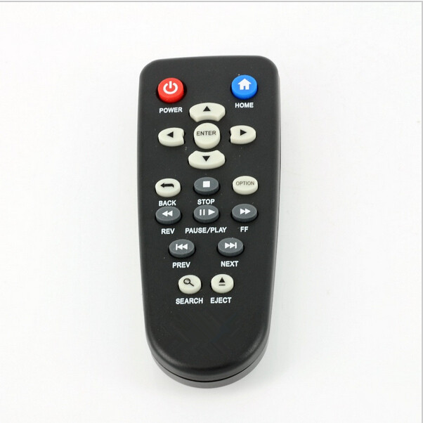 (New) Universal Replacement Remote Control For 1080P HD Western&Digital WD WD TV Live WDTV Media Player(China)