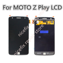 For Motorola Moto Z Play LCD Display Touch Screen Digitizer Assembly For Motorola Droid XT1635 lcd Replacement Parts+ tools