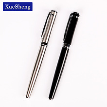 1 PC High Quality Pure Stainless Medium Nib 0.5mm Study Business Fountain Pen Gifts Decor Executive Caneta(China)