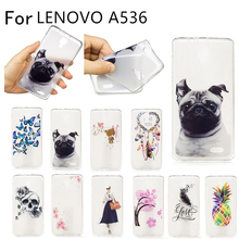 "Buy Lenovo A536 Case Lenovo A536 Silicon Soft TPU Back Cover Phone Case Lenovo A536 536 A358T case 4.5"" for $2.84 in AliExpress store"