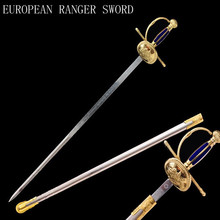 Chinese making Western sword the Knights sword \ of  collections noble swords Stainless steel The blade \ Europe Ranger knife