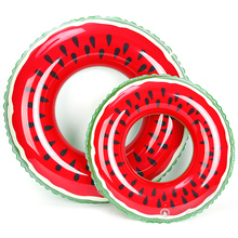 Watermelon Swimming Ring Inflatable Floats pool Swimming Float For Adult Floats Water Sports Pool Float Swimming Circle Toys(China)