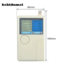 kebidumei RJ11 RJ45 USB BNC LAN Network Cable Tester for UTP STP LAN Cables Tracker Tracer Detector(China)