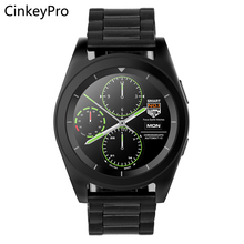 CinkeyPro Smart Watch Men G6 1.2inch IPS MTK2505 Sport Pedometer Heart Rate Smartwatch for Samsung iPhone Apple Android