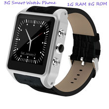 best selling high quality gps wifi 3g smart watch with1G Ram 8G Rom 600mah battery speaker(China)