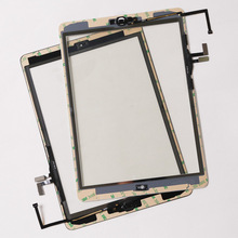 10pcs/lot By DHL For iPad Air 1 (ipad 5) Touch Screen Digitizer Top Outer Glass Panel Repait Parts