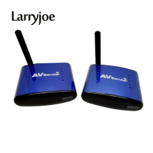 Larryjoe 5.8 GHz Wireless AV Audio Video Tansmitter Receiver 200M AV Sender Audio Receiver for TV HDTV TV BOX PAT630