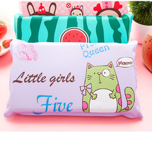 Cute Cartoon Summer Cool Pillow Large Water Nap Ice Cooling Pillow Home Sleeping Aid Pad Massager 2017ing(China)
