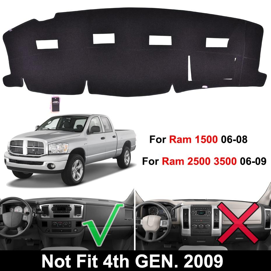 Dash Cover Pad Dashboard Mat Fits 06-08 Dodge 1500 Ram//06-09 Dodge 2500//3500 Ram