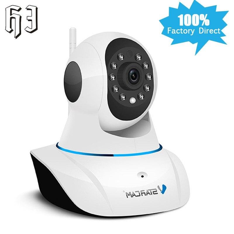 Vstarcam C25 HD 720P Smart IP Camera IR Night Vision P2P Baby Monitor Audio Record WIFI CCTV Onvif Indoor Surveillance Camera<br>