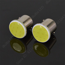 10pcs Super Bright S25 1156 led COB 12SMD 1156 BA15S P21W Auto Car Signal Reverse Led Lights 12V Auto LED