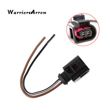 WarriorsArrow Engine Harness Motor Horn Plug Connector Wire 2 Pin For VW Passat Golf Jetta For Audi A3 A4 A5 A6 Q7 TT 4D0971992(China)