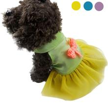 High-quality  Graceful Durable Pet Dog Cat Bow Dress Lace Dog Clothes Costume Dog Clothes For Small Dogs Roupas Para Cacho
