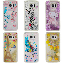 Nephy Glitter Star Phone Case For Samsung S5 Neo S6 S7 edge A3 A5 J3 J5 2016 Core Grand Prime Cover Silicon Soft Quicksand Skin