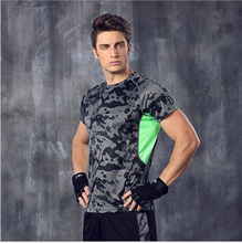 men shirt running Fitness Excercise Gym Sports basketball tops tees shirt jerseys