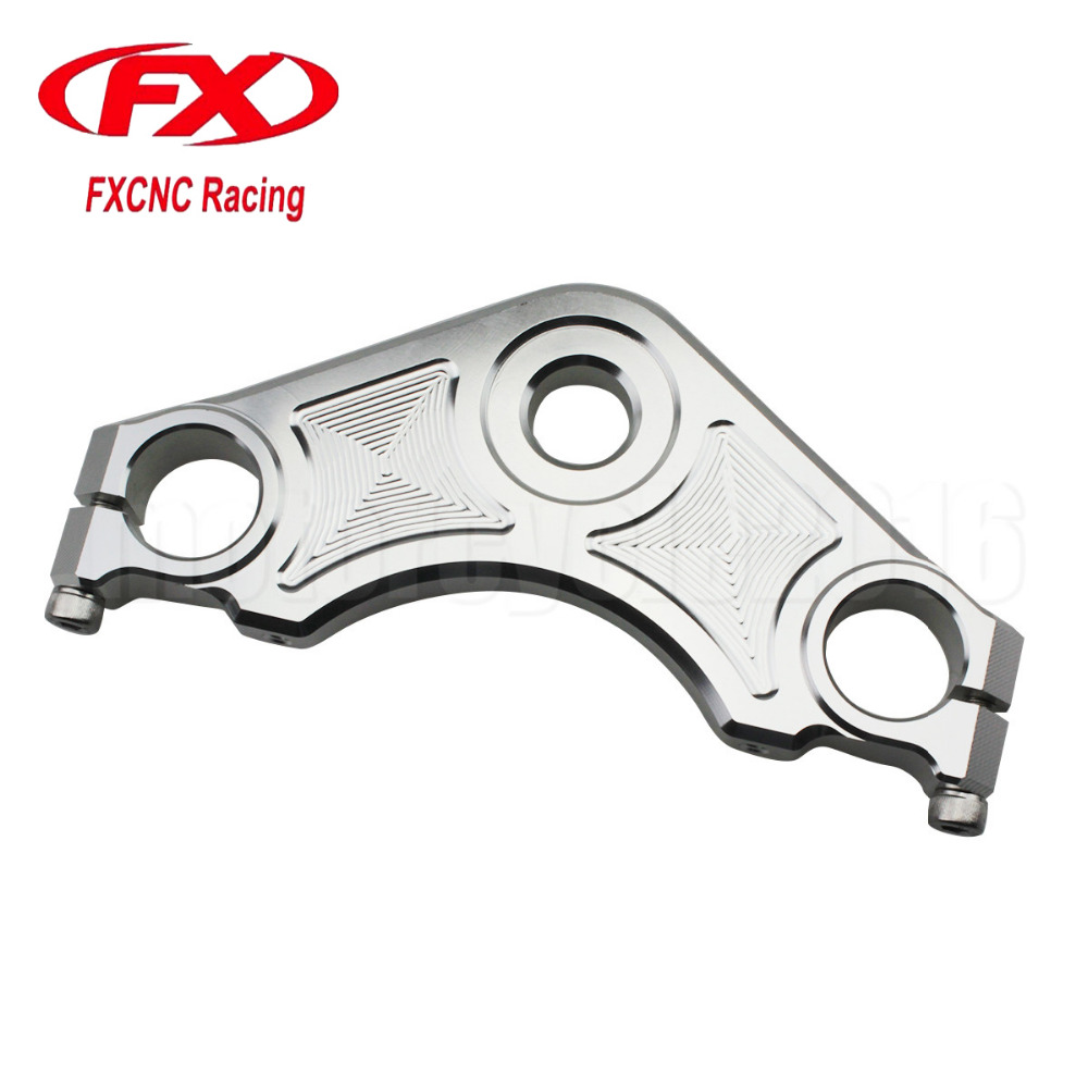 FXCNC CNC Aluminum Motorcycles Accessories Top Triple Tree Clamp Cover Set For Honda CBF150 Motorbike Moto Clamp<br>