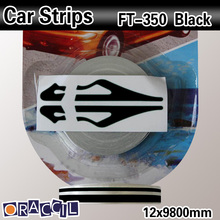 Car Side Body Wrapping Pin Stripe Tape sticker 100pcs/ctn 12mmx9.8m(China)