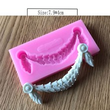 Decorative Silicone Cake Molds Fondant Chocolate Mould Cake Border Lace Decoration Stencil Cupcake Candy Pastry Baking DIY Tools(China)