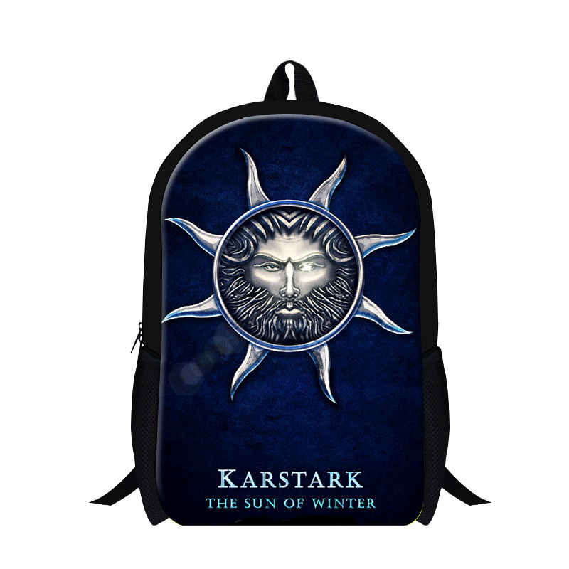 backpacks for teenager,Game of thrones polyester school bags for boys,printing backpack,child school bags primary<br><br>Aliexpress