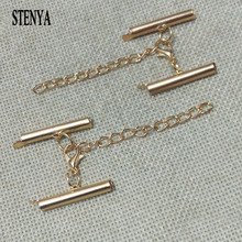 STENYA multylayers necklace connector toggle extension chains lobster swivel clasps pinch bails tube spacers Ropes crimps ends