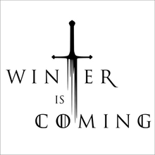 """Winter IS Coming"" Decals Game Of Thrones Vinyl Sticker For Car Decor"