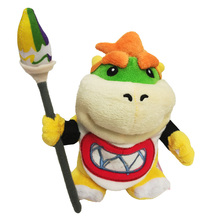 New 2017 Super Super Mario Plush Toy Series Doll 18cm Super Mario Plush Toys Bowser Dragon Doll Brothers Bowser Retail
