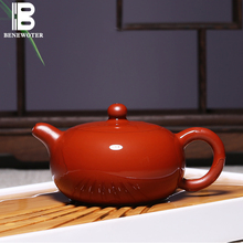 180ml Yixing Authentic Purple Clay Tea Pot Da Hong Pao Teapot Famous Pure Full Handmade Home Kung Fu Tea Set 188 Holes Kettle(China)