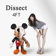 RON KAWS Super large doll dissect set decoration trend model(China)