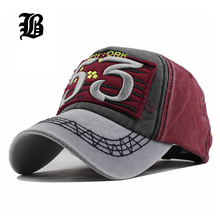 [FLB] New Cotton Baseball Cap Running Fitted Letter Spnapback Summer Cap Solid Hats For Men Women Caps dad hat Wholesale(China)