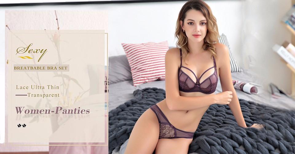 Viven-Leigh-Sexy-Bra-Breathable-Bra-Set-Lace-Ultra-Thin-Transparent-Women-Panties-Sets-Bandage-Mesh
