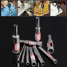 1 Set 10Pcs 3-13mm Diamond Coated Core Saw Hole Drill Tool For Glass Marble Tiles