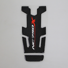 Motorcycle Carbon Oil Tank Fuel Gas Pad Protective Sticker Badge Decal Universal for HONDA NC700X